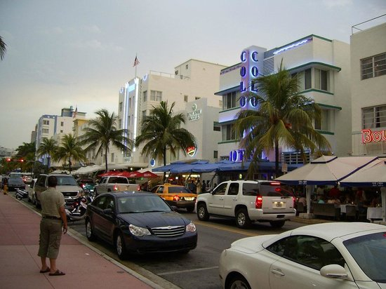 Boulevard Hotel Ocean Drive : Ocean Drive by the Boulevard Hotel