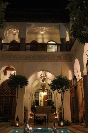 Palais Riad Calipau Marrakech: court yard
