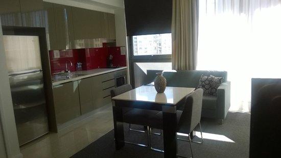 Meriton Serviced Apartments Campbell Street: Studio Apartment