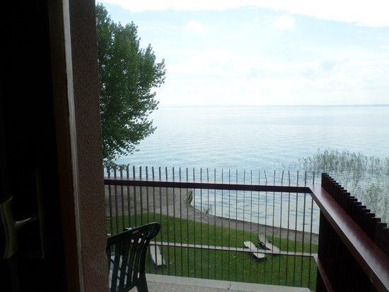 Hotel Smeraldo : Beautifu lakel view from the balcony