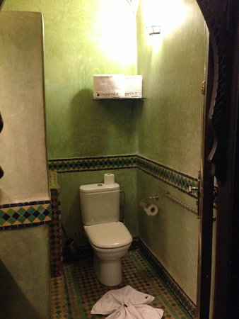 Riad & Spa Mabrouk : Bathroom