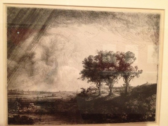 Musée de la maison de Rembrandt : The collections of etchings is spectacular.
