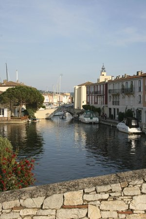 Port Grimaud: A view of the canals.
