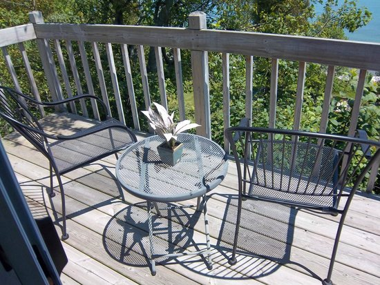 at the Waters Edge: The balcony