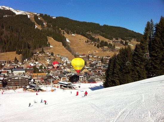 Ski Les Gets : Neige de printemps :-)