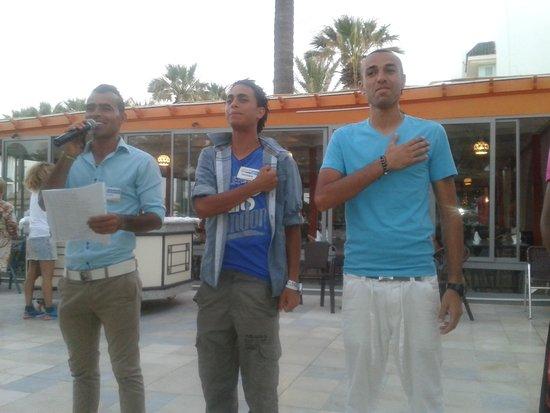 Club Marmara Hammamet Beach: super équipe