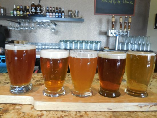 Double Horn Brewing Company: Sampler