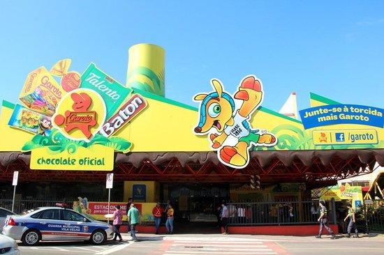 Garoto Chocolate Factory : Fachada (entrada) para tour