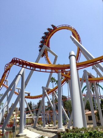 Buena Park, CA: Rollercoaster at Knotts Berry Farm