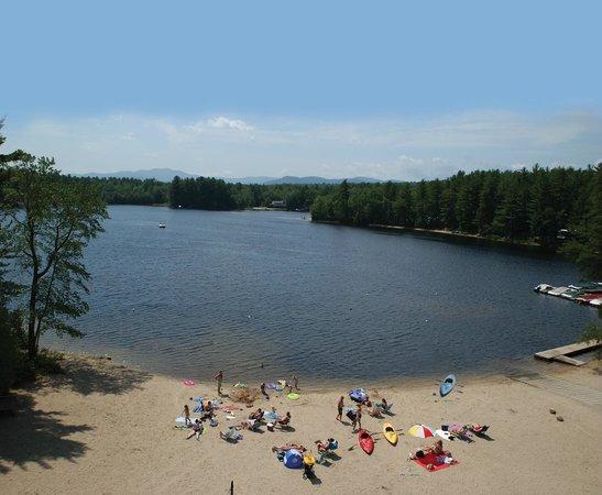 Danforth Bay Camping & RV Resort: Danforth Bay from the beach