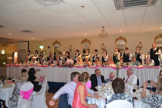 Crover House Hotel & Golf Club: Top Table