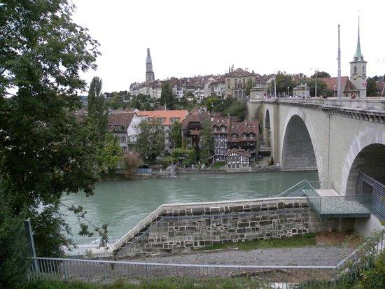 Old Town Bern: vista do centro histórico de berna
