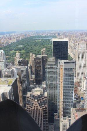 Rockefeller Center : View from 67th floor Rockafeller Building