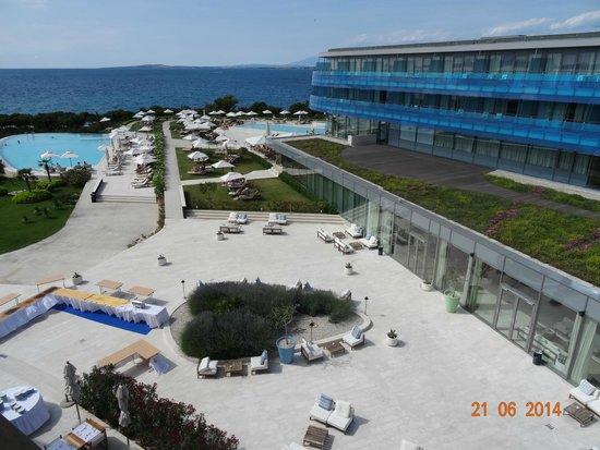Falkensteiner Hotel & Spa Iadera : Widok z pokoju