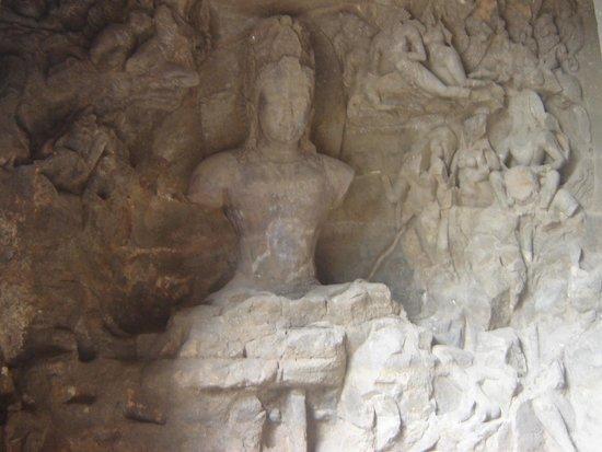 Elephanta Caves: Inside the Caves
