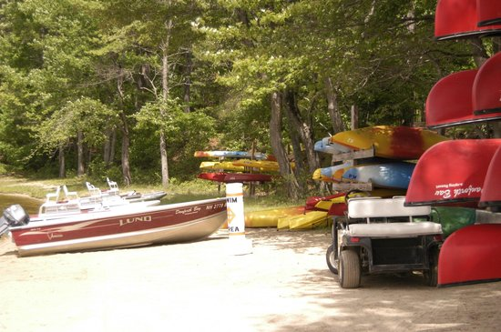 Boat Rental Area Picture Of Danforth Bay Camping Amp Rv