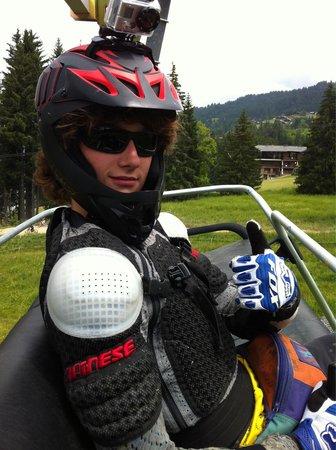 Ski Les Gets : La montagne ça vous gagne !!! Surtout aux chavannes :-)