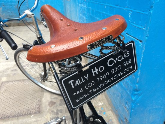 Tally Ho! Cycle Tours: Vintage bicycles
