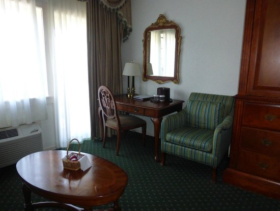 Bavarian Inn: Sitting area in another room