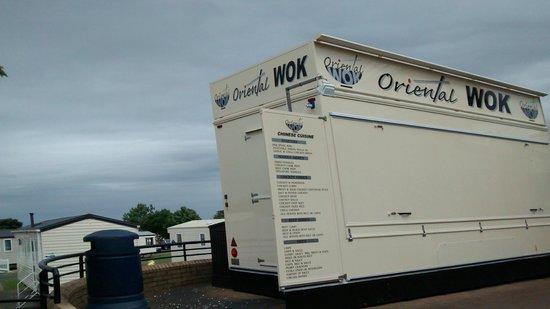 Craig Tara Holiday Park - Haven : This van is busy £6.50 meal