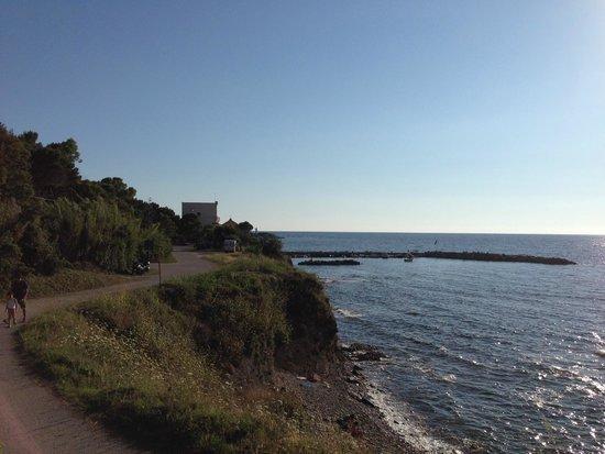 villa leucosia view