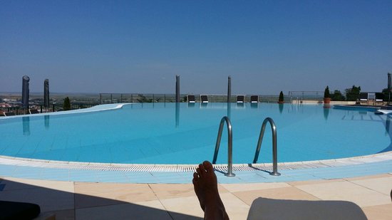 Hotel Villa Breg: Relaxing view by pool