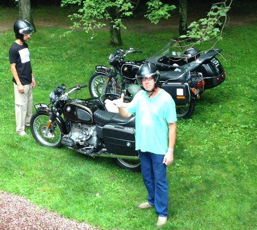 Jim Thorpe Sidecar Tourz: getting ready to ride