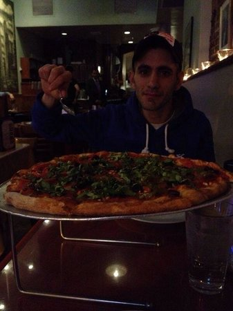 John's of Times Square : Pizza...!!!!