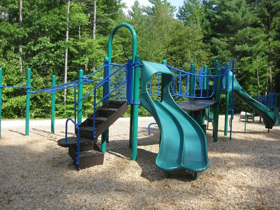 Freedom, NH : One of many playgrounds