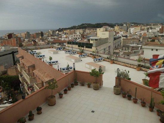 Hotel Alba Seleqtta: terrace area