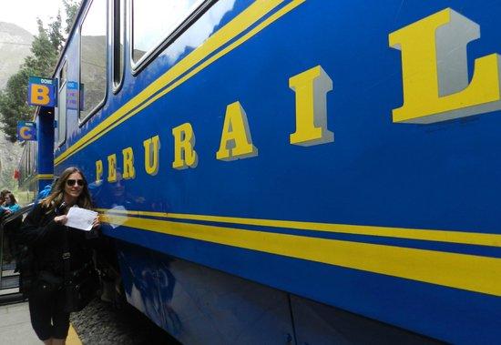 PeruRail - Vistadome: Vagón del Vistadome