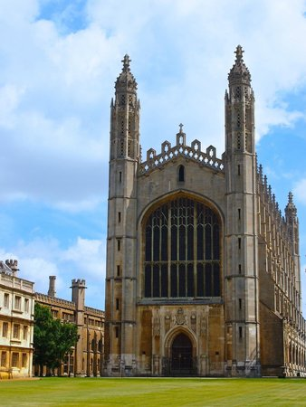 King's College Chapel: The chapel from the canal