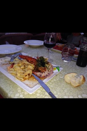 Le Cannier Restaurant: homard inmengeable