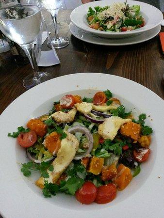 Press Club: Haloumi and butternut salad