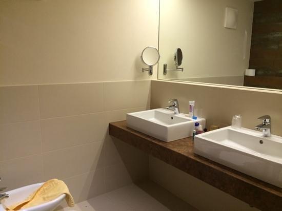 Genusshotel Goldene Rose: Il bagno della nostra camera