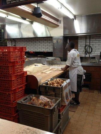Fairmount Bagel : Fairmont Bagel - Kitchen View