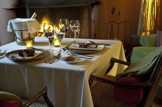 Awasi Atacama - Relais & Chateaux : Romantic table for two