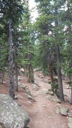 Mount Evans Scenic Byway: Echo Lake park trail