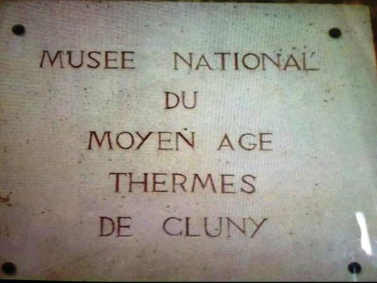 Musee de Cluny - Musee National du Moyen Age: Musee National du Moyen Age