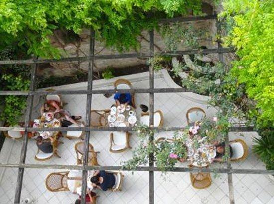 Historia Hotel: Restaurant