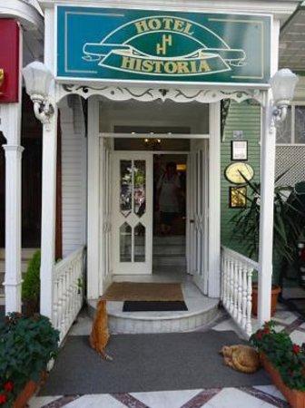 Historia Hotel : Entrance