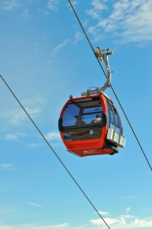 Summit House Restaurant: The restaurant is accessed by the Mt. Rainier Gondola, getting there is half the fun!