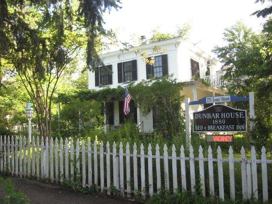 Dunbar House, 1880: Dunbar House 1880 front porch