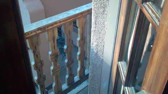 Hotel El Capitan: On the balcony