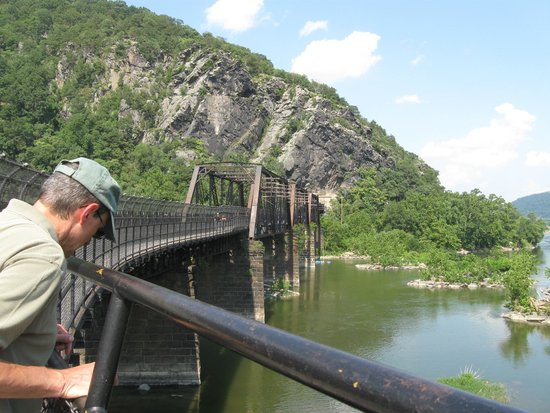 Bridge Over Potomac Picture Of Harpers Ferry National Historical - Trip advisor harpers ferry