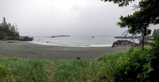 Wya Point Resort: View from camp site