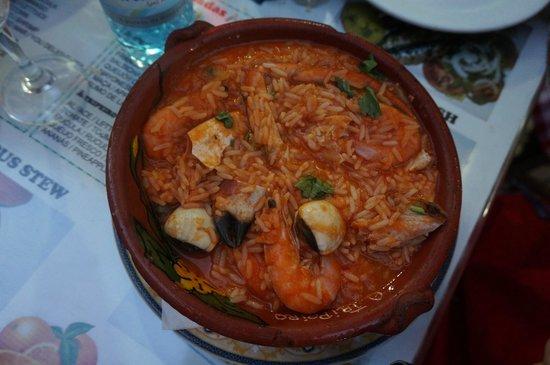 Restaurante Tripeiro: Shrimps in rice - so so