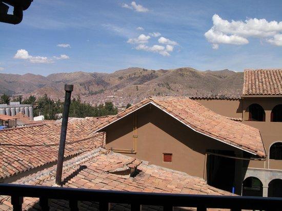 Casa Andina Standard Cusco San Blas: View from a balcony