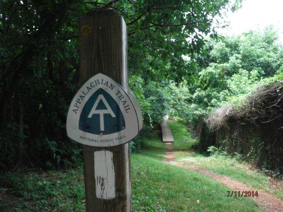 Appalachian Trail: AT Trail Sign