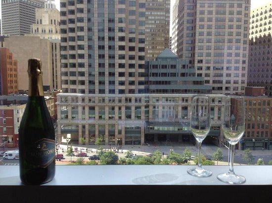 InterContinental Boston: An ICONic Boston view!